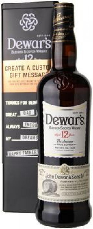 Dewar's 12yr Blended Scotch 750ml