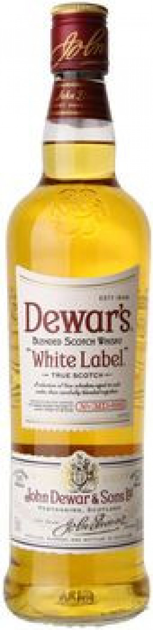 Dewar's White Label Blended Scotch 1L