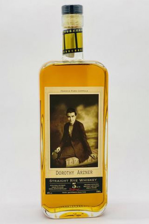 Dorothy Azner Straight Rye Whiskey 750ml