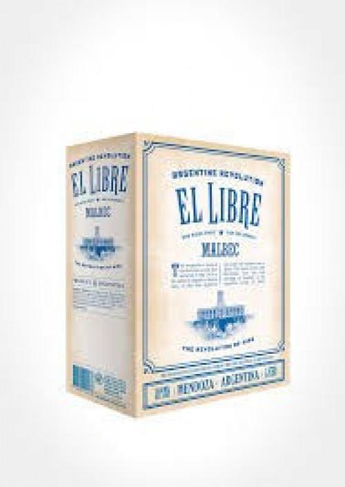 El Libre Malbec 3 Ltr