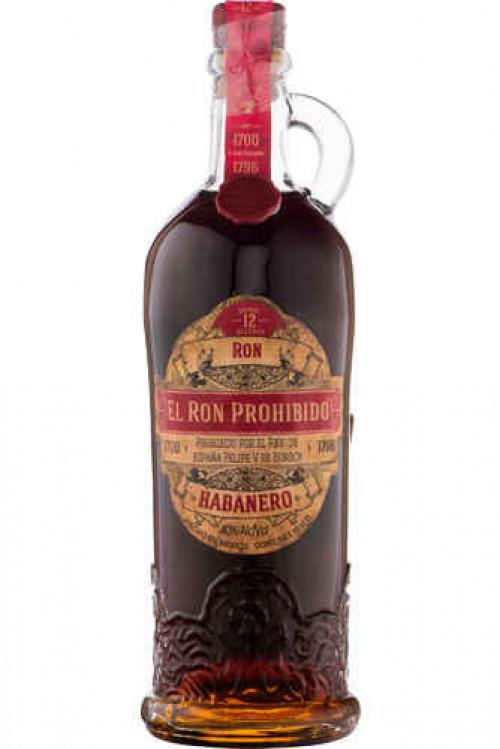 El Ron Prohibido 15 Rum 750ml