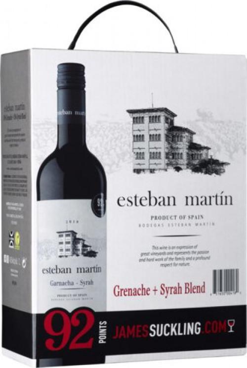 Esteban Martin Grenache/Syrah 3L BIB