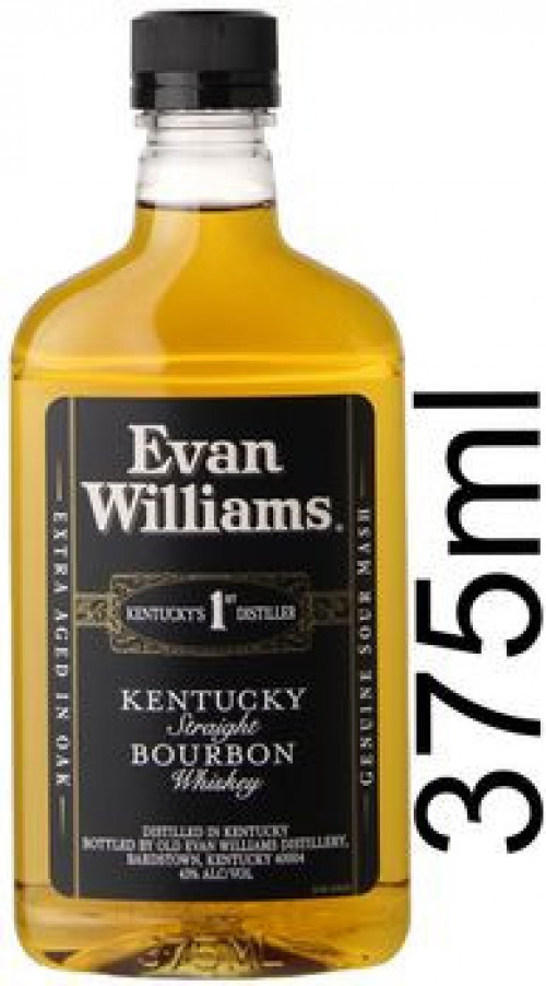 Evan Williams Black Label Kentucky Straight Bourbon 375ml