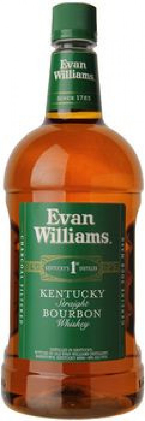 Evan Williams Green Label Kentucky Straight Bourbon 1.75 Ltr