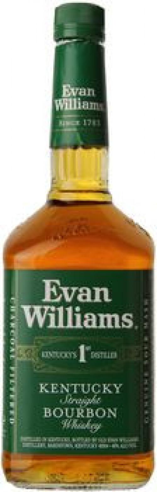 Evan Williams Green Label Kentucky Straight Bourbon 1L