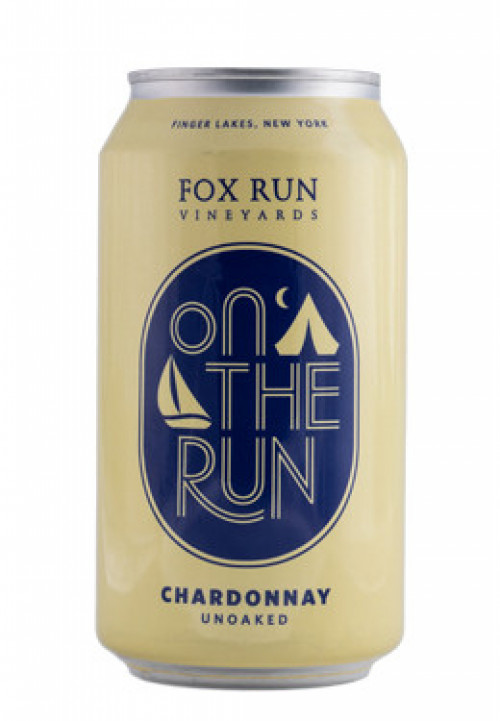 Fox Run On The Run Chardonnay Can 375ml