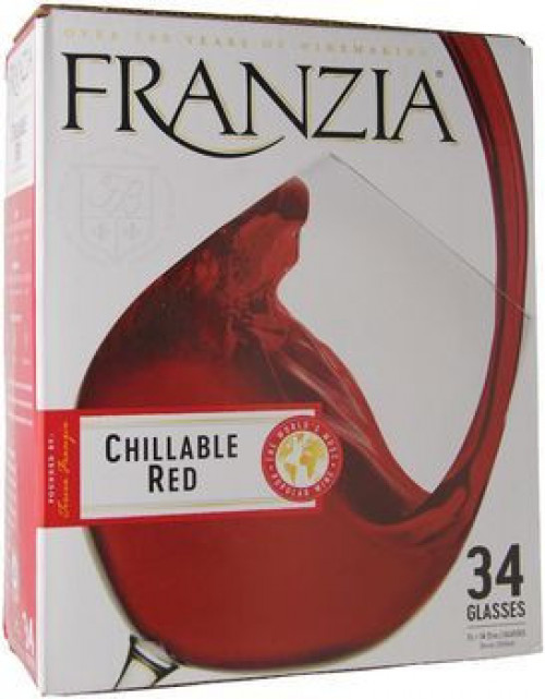 Franzia Chillable Red 5 Ltr