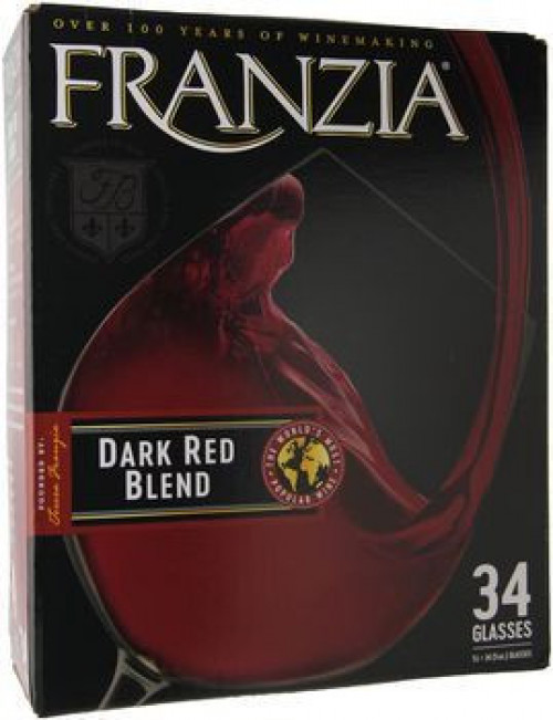 Franzia Dark Red Blend 5 Ltr