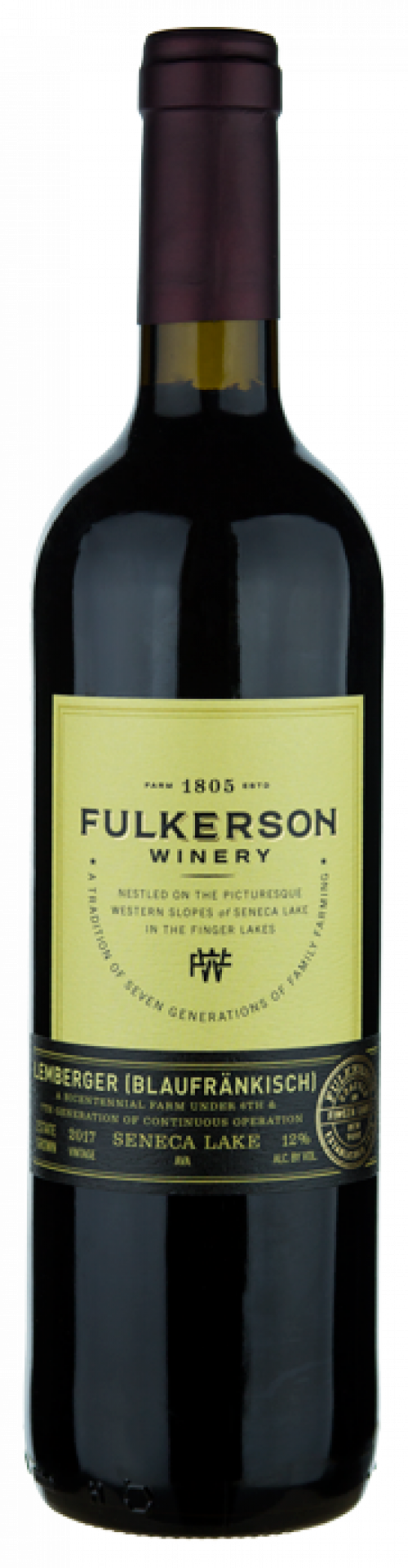 Fulkerson Lemberger (Blaufrankish) 750ml