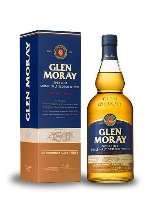 Glen Moray Chardonnay Cask Single Malt Scotch 750ml