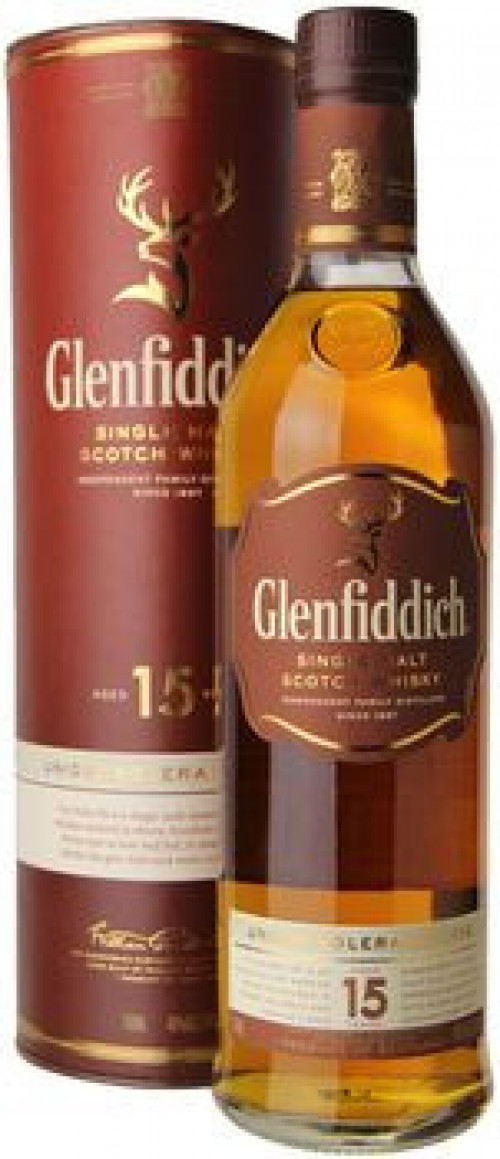 Glenfiddich 15yr Single Malt Scotch 750ml