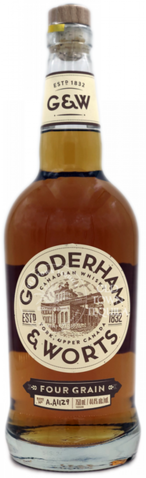 Gooderham & Worts Canadian Whisky 750ml