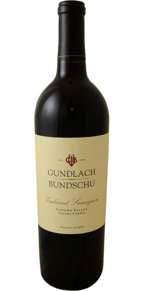 Gundlach Bundschu Sonoma Cabernet Sauvignon 750ml
