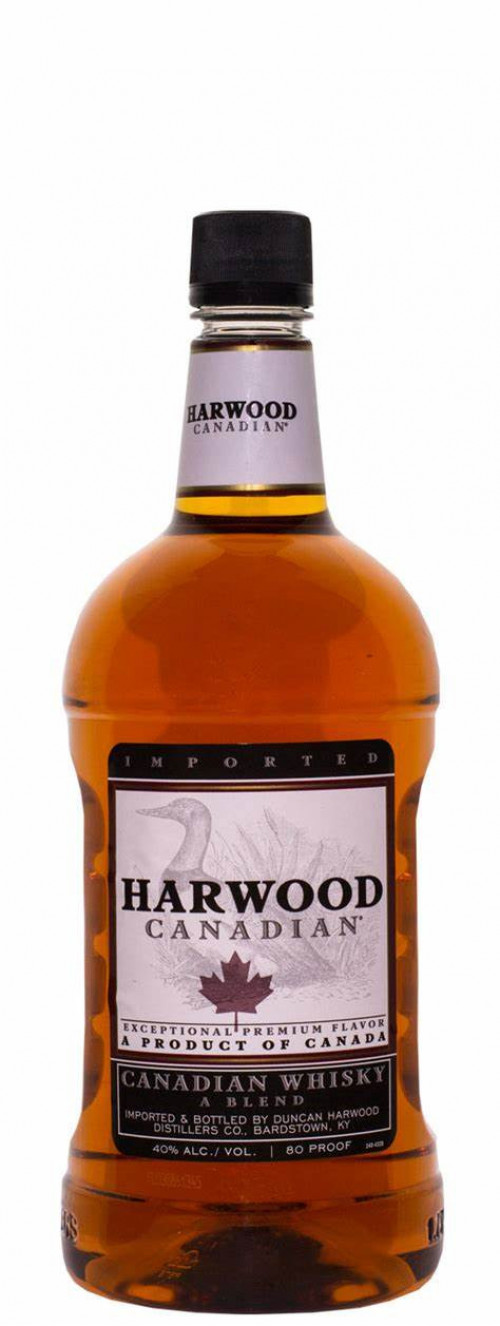 Harwood Canadian Whisky 1.75 Ltr