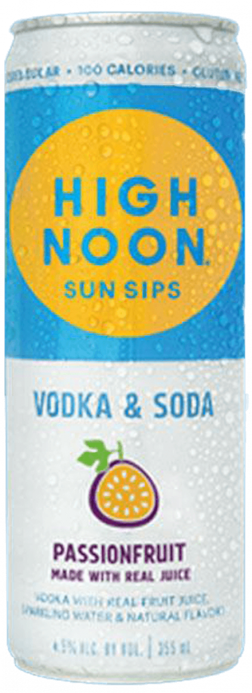 High Noon Passionfruit 4 Pack(355ml ea)
