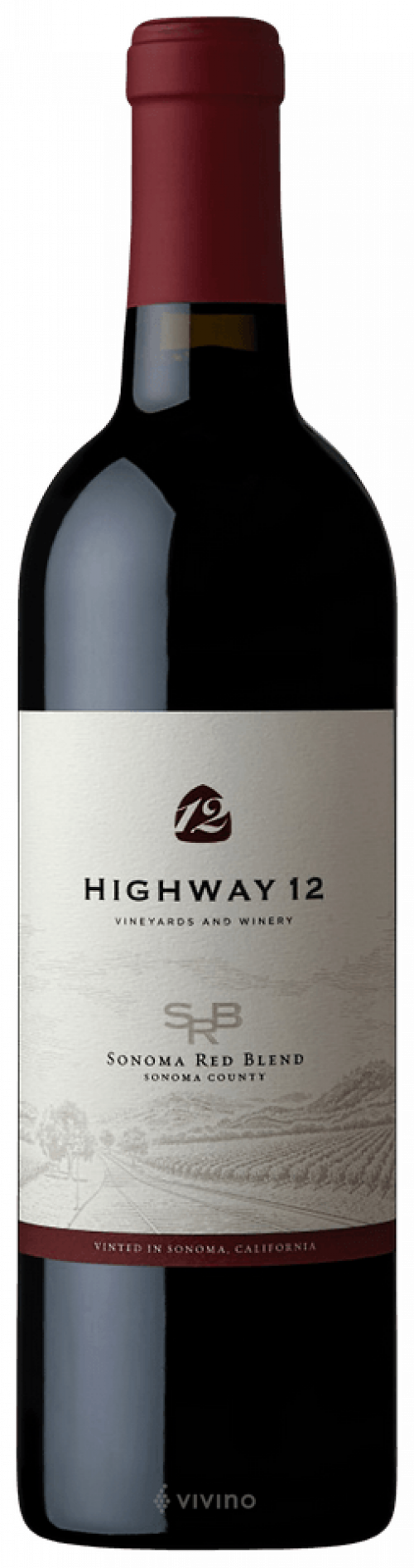 Highway 12 Sonoma Red Blend 750ml