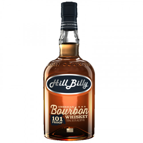 Hill Billy Bourbon 101 Proof 750ml