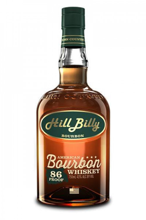Hill Billy Bourbon 86 Proof 750ml