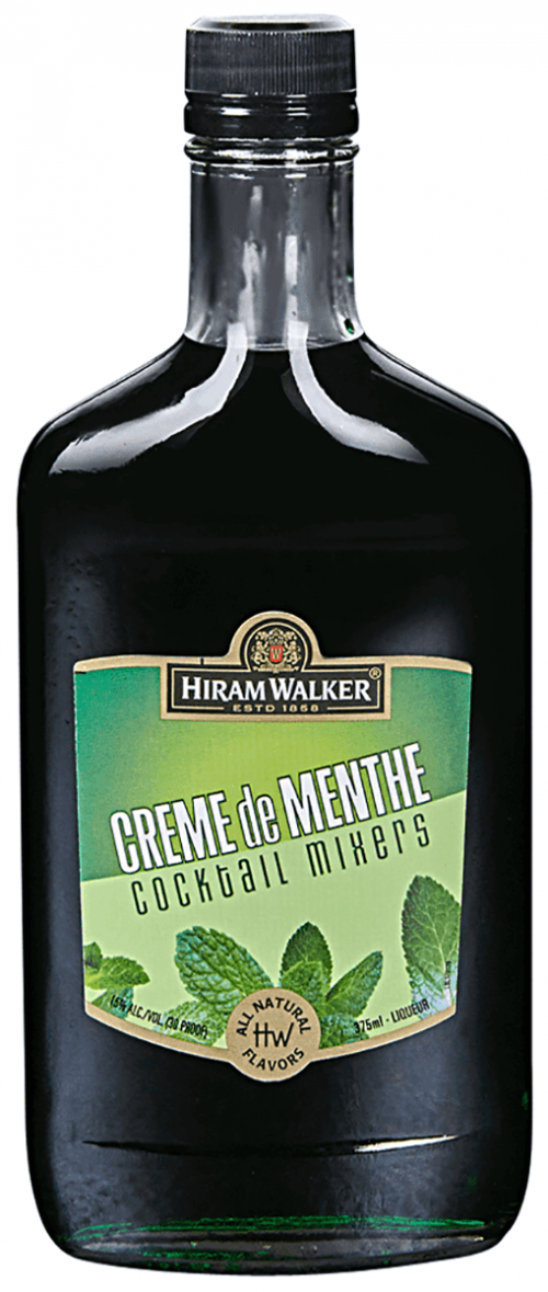 Hiram Walker Creme De Menthe Green 375ml