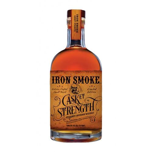 Iron Smoke Whiskey Casket Strength 750ml