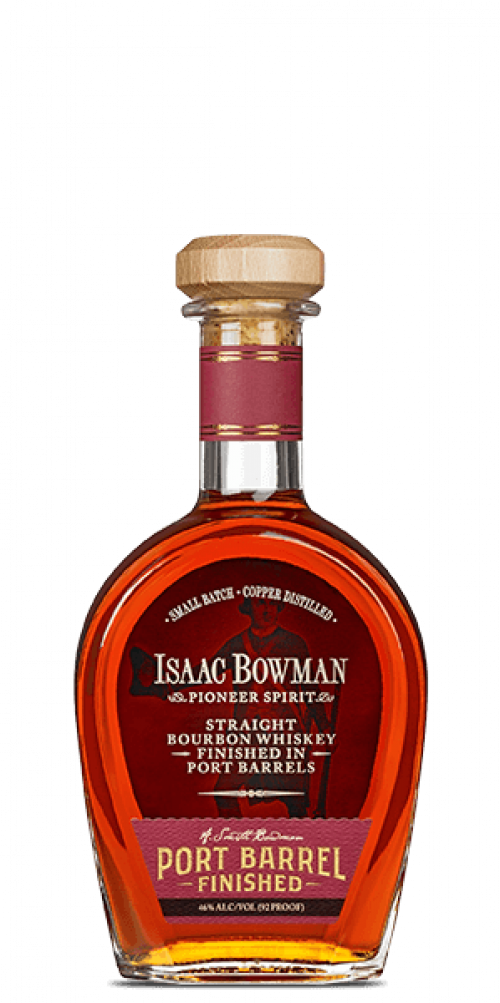 Isaac Bowman Bourbon Port Barrel Finish 750ml