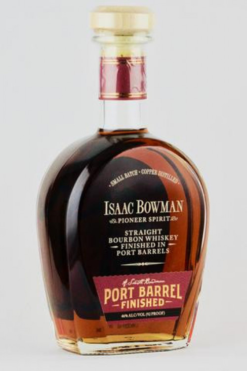 Isaac Bowman Port Finished Straight Bourbon 750ml
