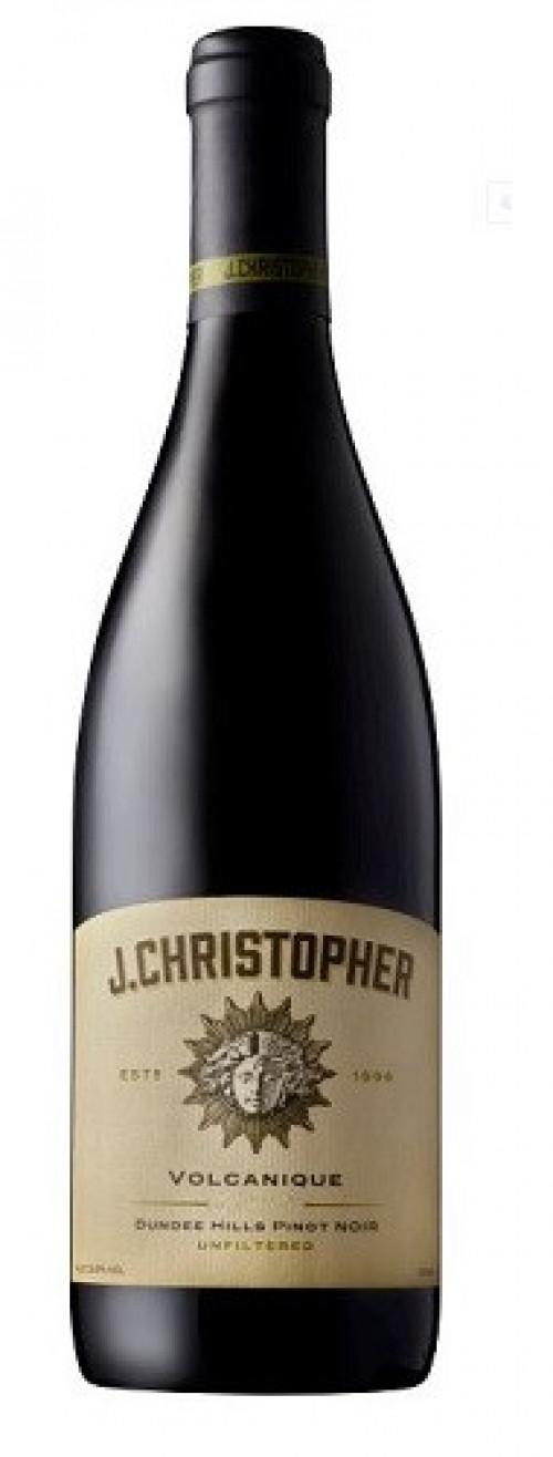 J Christopher Volcanique Pint Noir 750ml