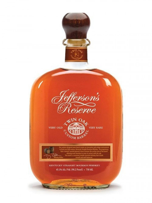 Jefferson's Reserve Twin Oak Kentucky Straight Bourbon 750ml