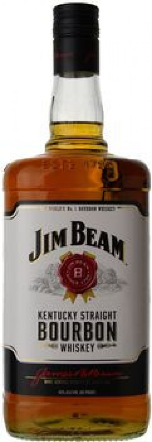 Jim Beam Kentucky Straight Bourbon 1.75 Ltr