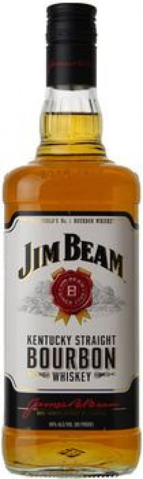 Jim Beam Kentucky Straight Bourbon 1L