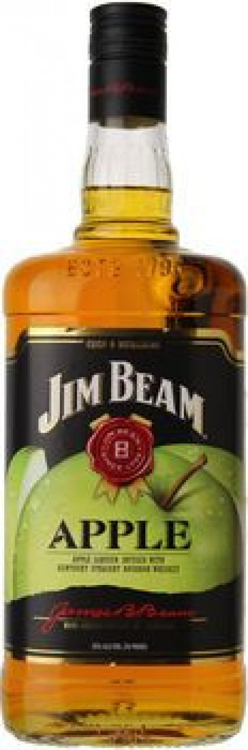 Jim Beam Apple Liqueur With Kentucky Bourbon 1L