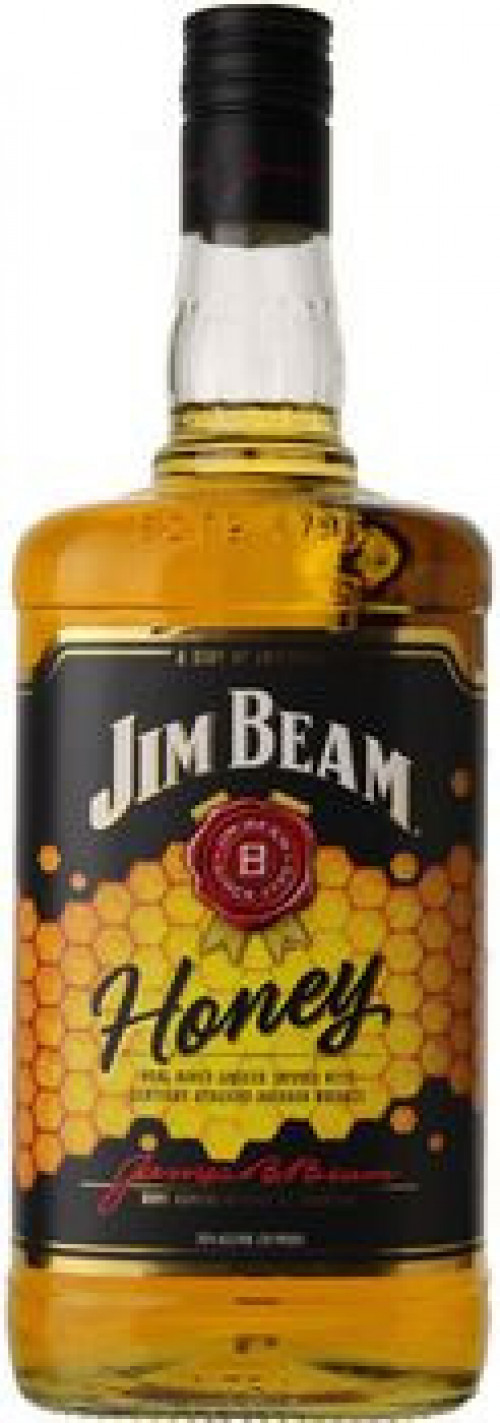 Jim Beam Honey Liqueur With Kentucky Bourbon 750ml