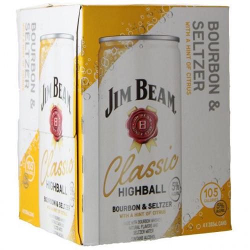 Jim Beam  Classic Highball 4 Pack(355ml ea)
