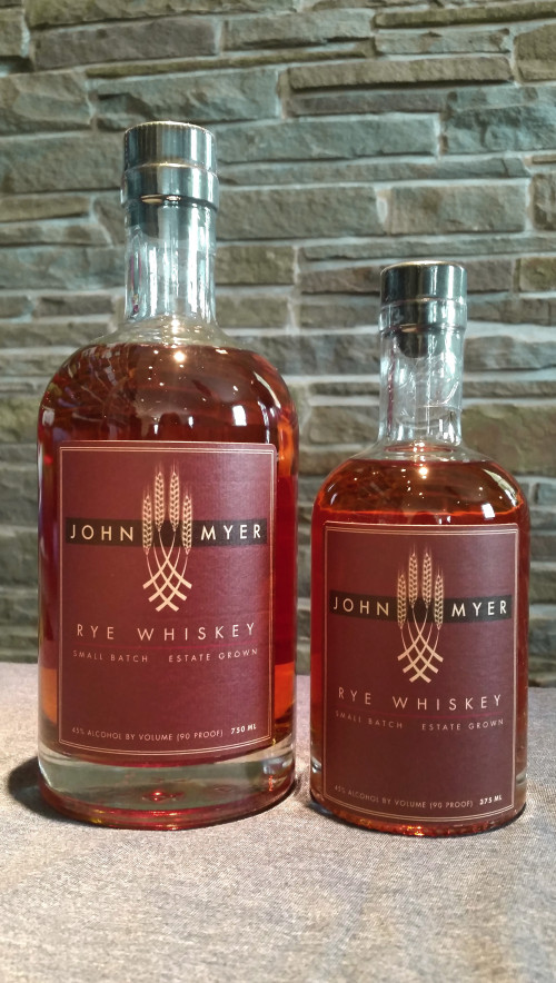 Myer Farm Rye Whiskey 750ml