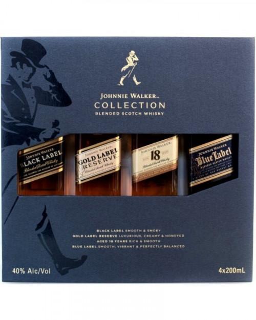 Johnnie Walker Collection Set (4x200Ml)