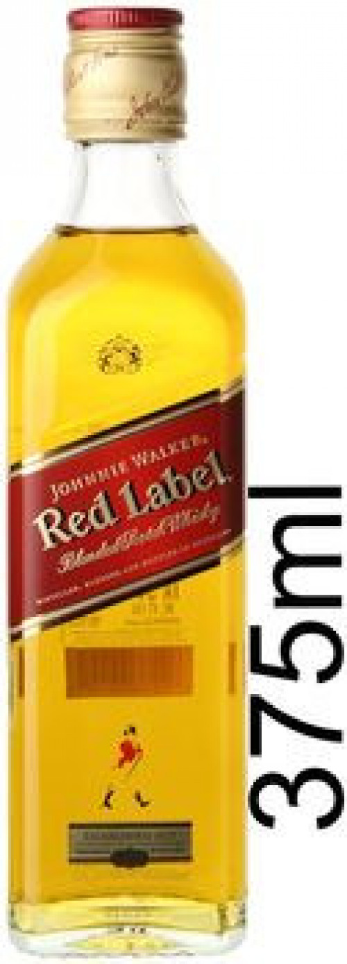 Johnnie Walker Red Label Blended Scotch 375ml