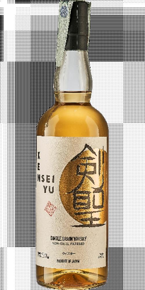 Kensei Yu Single Grain Japanese Whisky 750ml