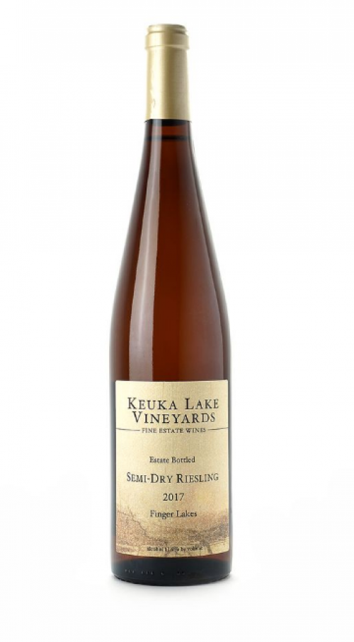 Keuka Lake Riesling Semi Dry 750ml