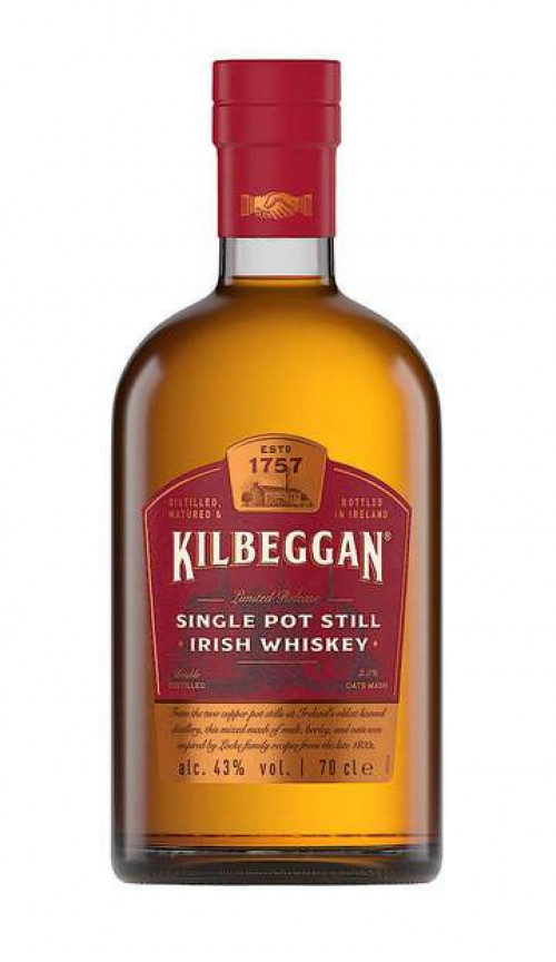 Kilbeggan Single Pot Irish Whiskey 750ml