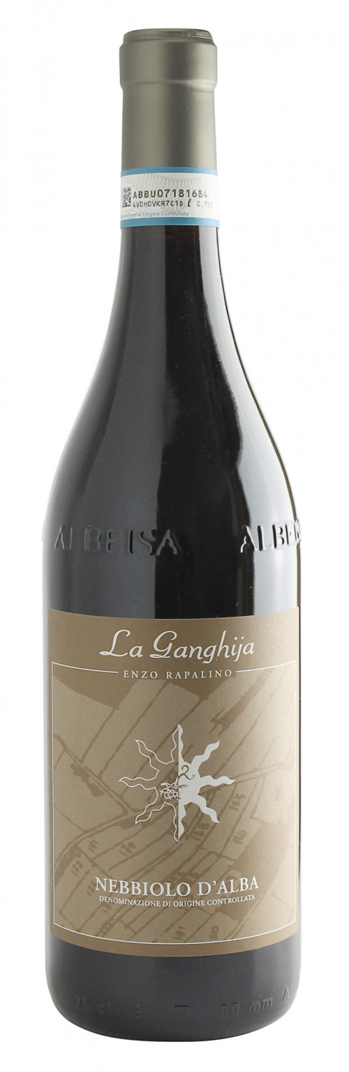 La Ganghija Nebbiolo D'alba 750ml