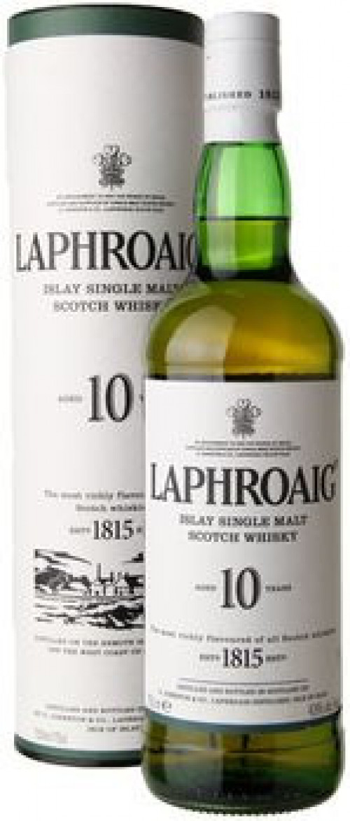 Laphroaig 10yr Single Malt Scotch 750ml