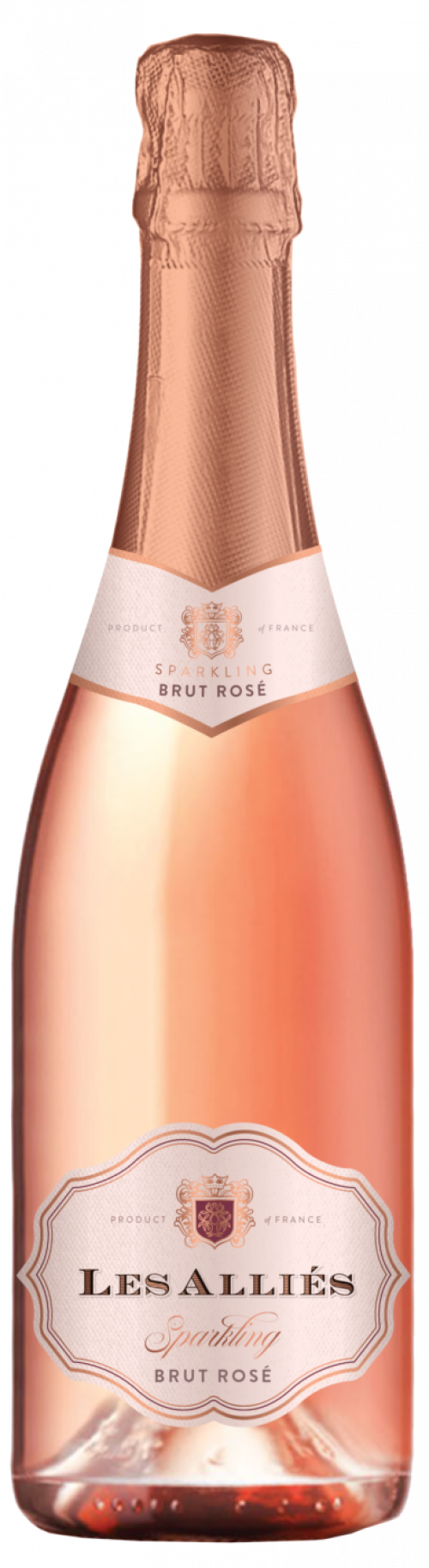 Les Allies Sparkling Brut Rose 750ml