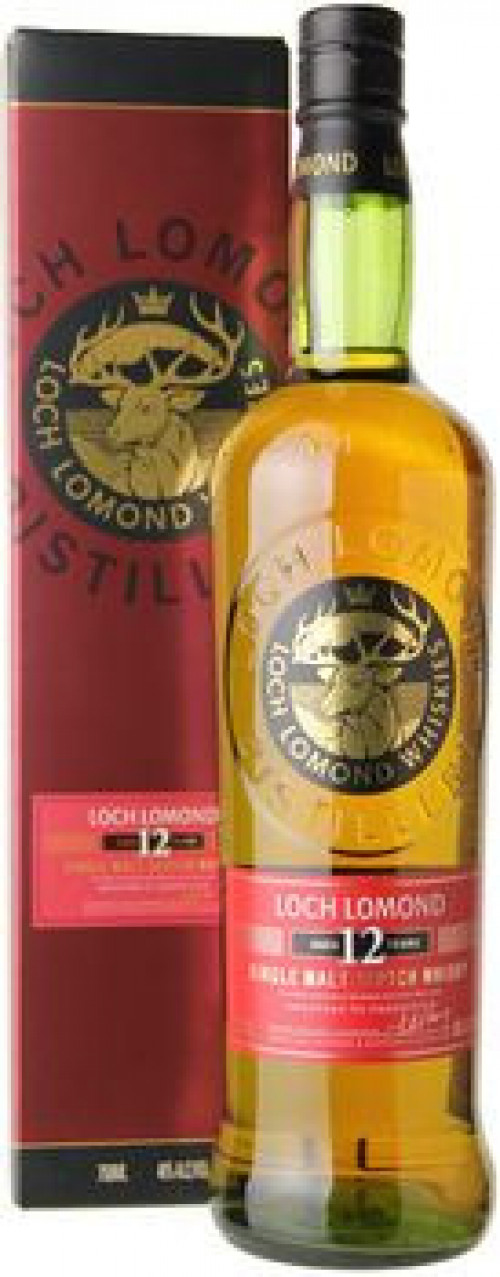 Loch Lomond 12yr Single Malt Scotch 750ml