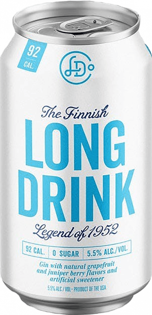 Long Drink Zero Sugar Can 355ml