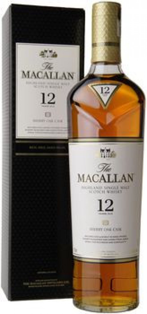 Macallan 12yr Sherry Oak Single Malt Scotch 750ml