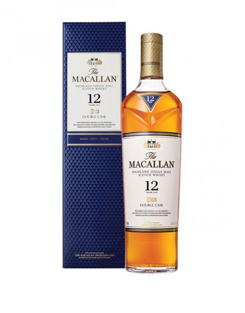 Macallan 12Yr Double Cask Single Malt Scotch 750ml