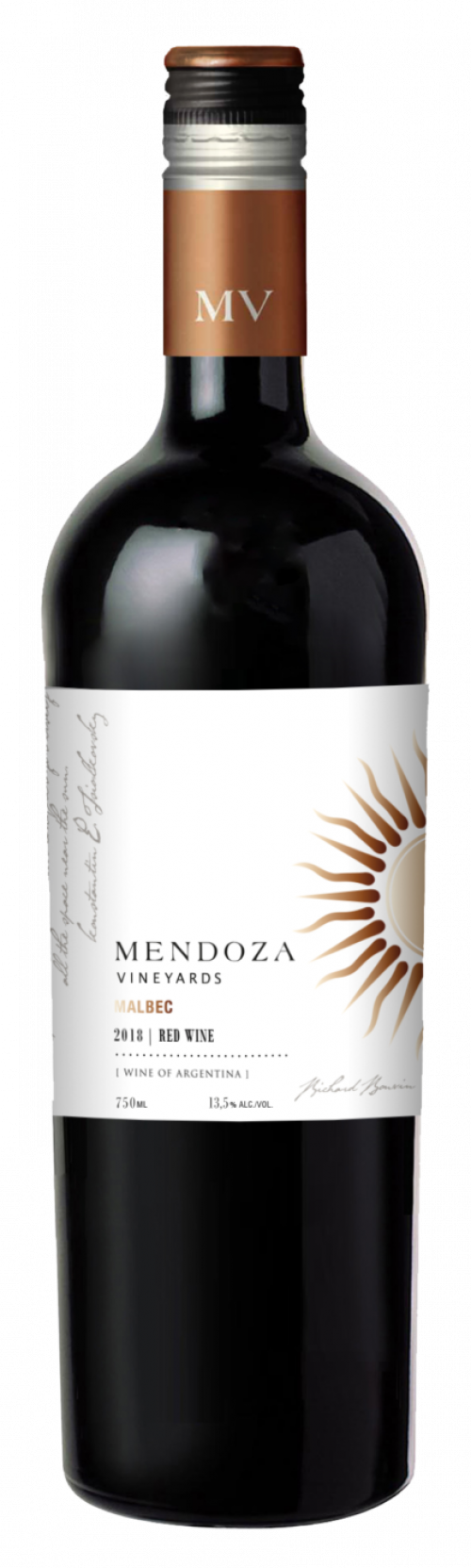 Mendoza Vineyards Malbec 750ml