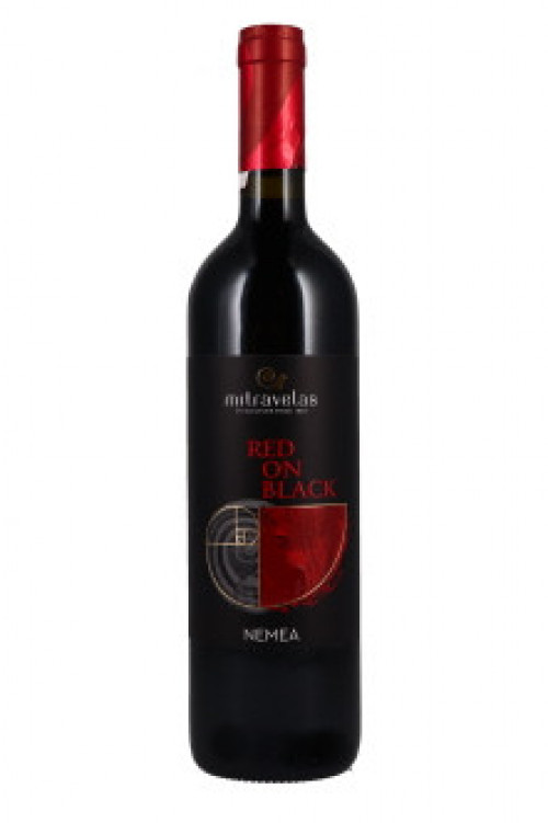 Mitravelas Red On Black 750ml