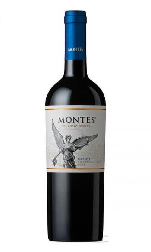 Montes Merlot Classic Series 750ml