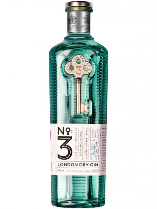 No 3 London Dry Gin 750ml